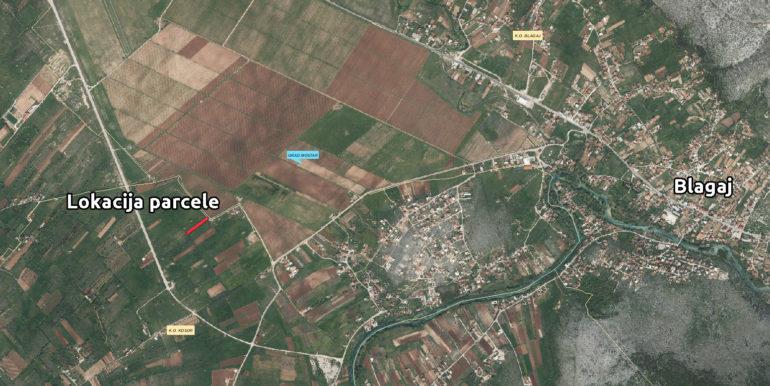 Zemljište Kosor šira lokacija