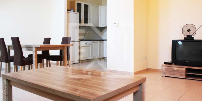 Dvosoban stan Međugorje dnevni pogled na kuhinju