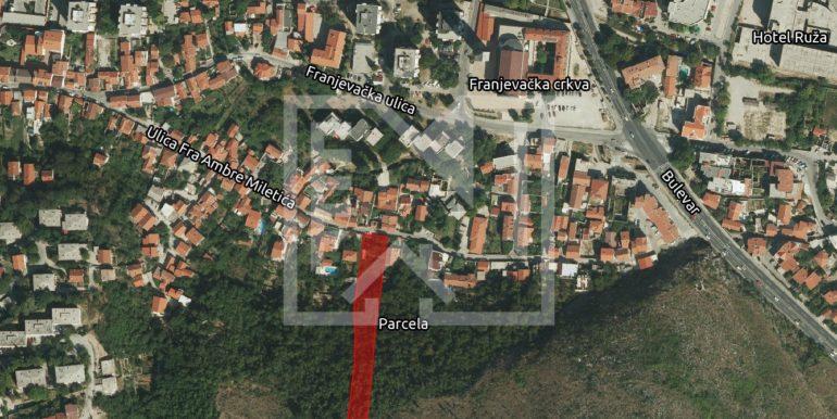 Zemljište Podhum šira lokacija