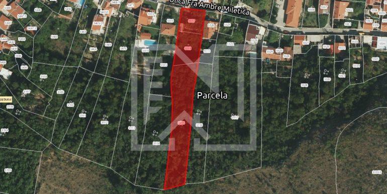 Zemljište Podhum lokacija
