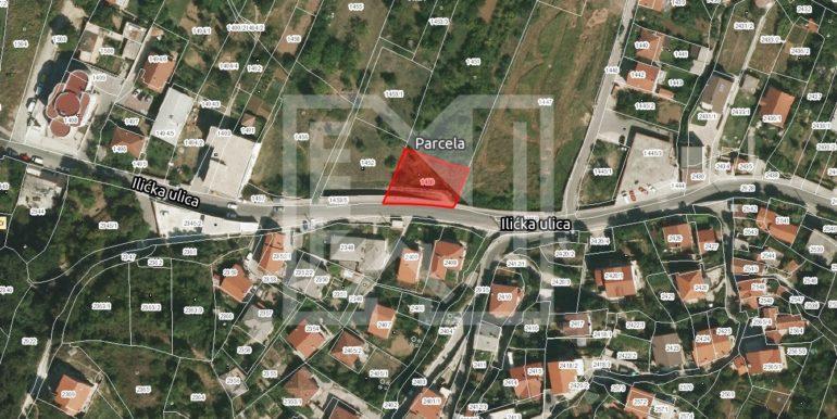 Zemljište u Ilićima 580m2 lokacija