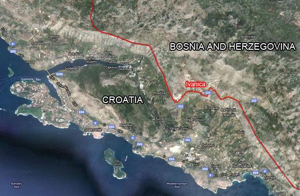 Zemljište na Ivanici lokacija naselja