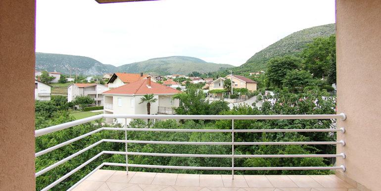 kuća u Cimu balkon pogled