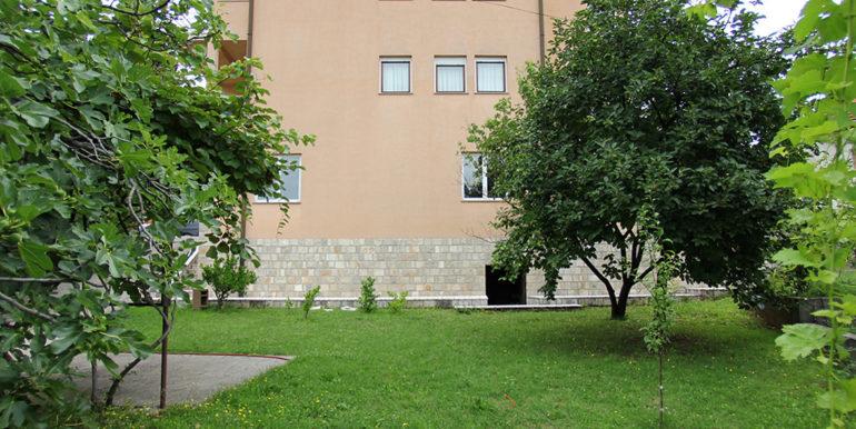 kuća u Cimu pogled iz dvorišta