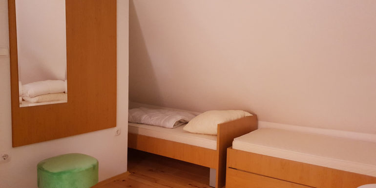 Spavaća soba treći kat
