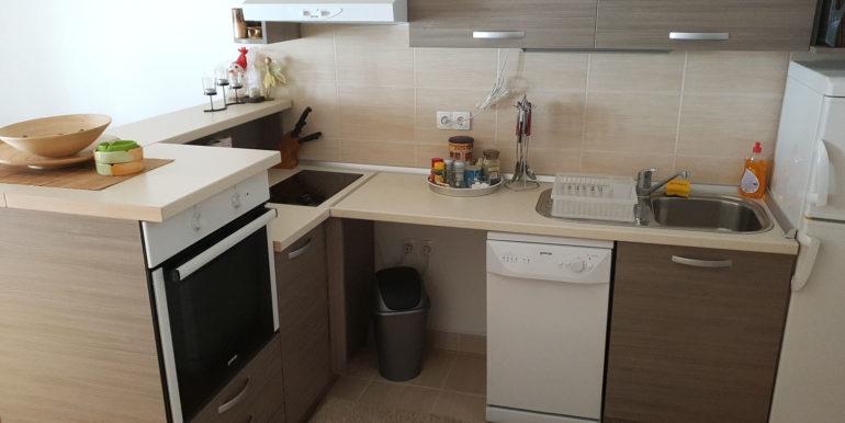 Kuhinja u apartmanu na Kupresu