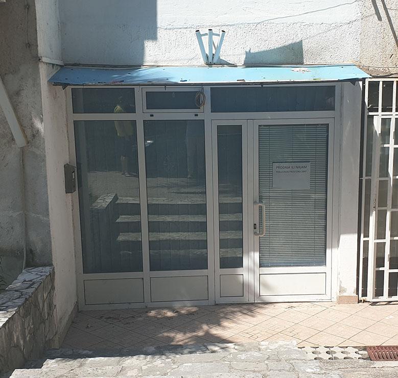 Prodaje se poslovni prostor u Dubrovačkoj Ulici