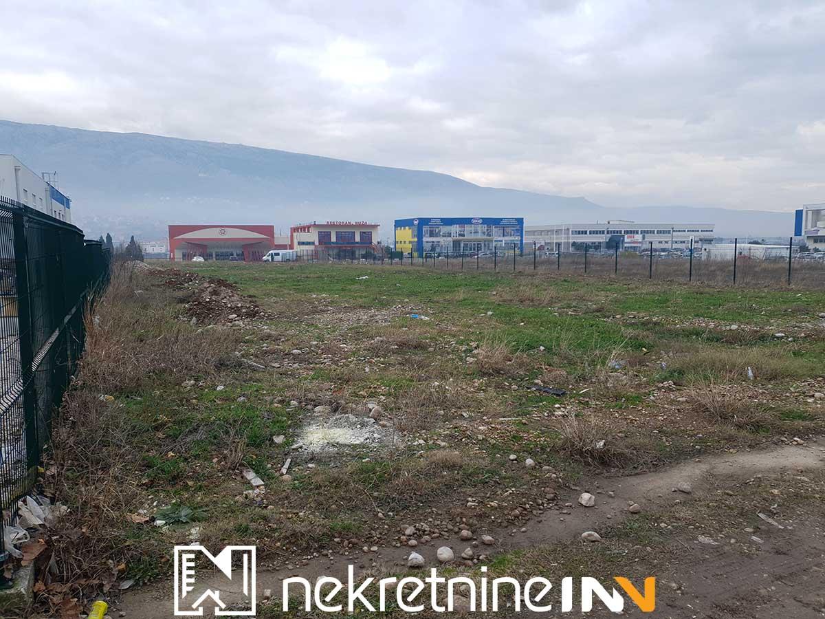 Najam poslovnog zemljištva u Poslovnoj Zoni Mostar