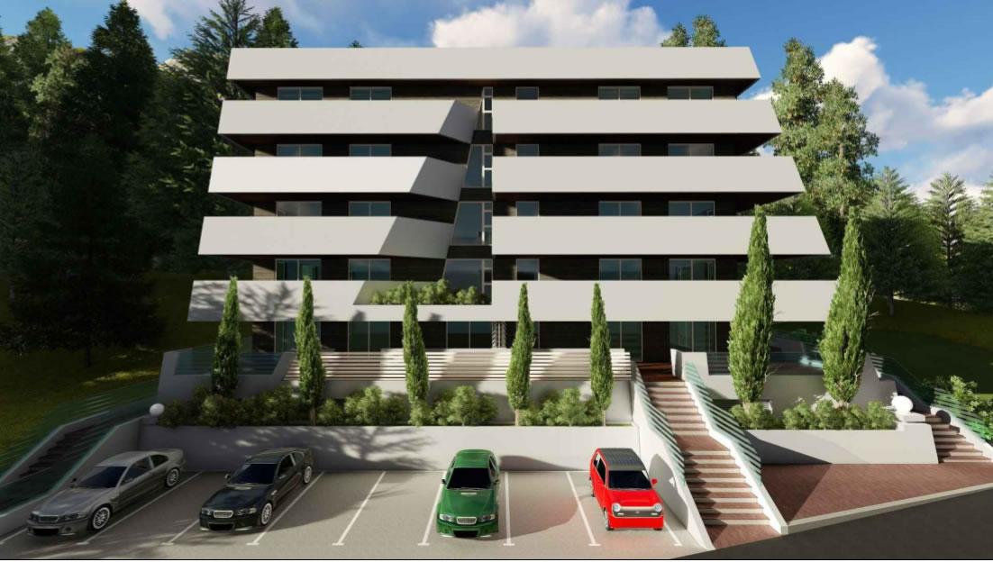 Apartmani Avalance stambena zgrada Bjelašnica